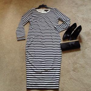 NWOT Eloquii striped dress